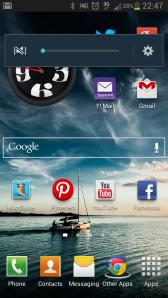 Samsung Galaxy s2 s3 media volume muted